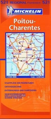 Carte routière : Poitou Charentes, N° 233