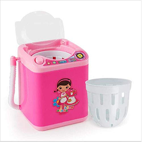 Crazy lin Mini Beauty Blender Waschgerät, Makeup Tools Tiefenreiniger Set, Waschmaschine und Pinsel Reinigungswerkzeug Beauty Egg Cleaning Toy Elektronische Mixer Reinigung -