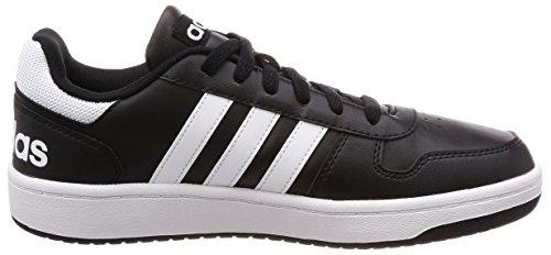 Core ftwr Black Vs Schwarz ftwr White Hoops Herren Fitnessschuhe Core 2 White Black adidas 0 ftwr White ftwr White TS50x6wn6q