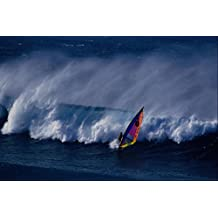 568017 Windsurfing On A Kona Wind Hookipa Greg Aguera A4 Photo Poster Print 10x8