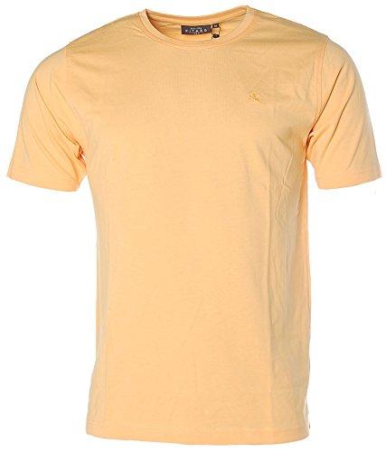 Kitaro Herren Basic T-Shirt Lemonade