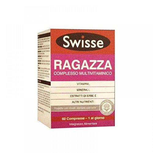 Swisse Ragazza Multivitaminico Integratore Alimentare 60 Compresse