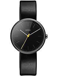Braun Damen-Armbanduhr Analog Quarz Leder BN0172BKBKL