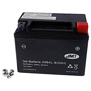 Batterie JMT GEL High Power 5A–jmb4l-b/YTX4L-BS 12Volt–Suzuki AY Katana 5097–06
