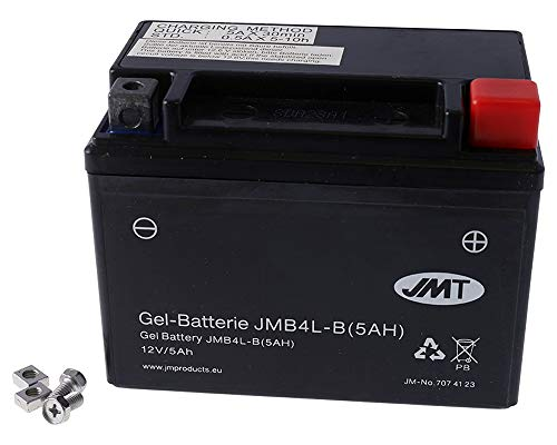 Batterie JMT Gel High Power 5A - JMB4L-B/ YTX4L-BS 12 Volt [ inkl.7.50 EUR Batteriepfand ]
