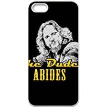 iPhone 5, 5S Phone Case White The Big Lebowski LH5875192