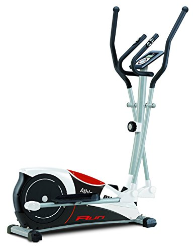 BH Fitness Athlon Run G2334RF. Inertial system 22lbs. Complete workout! Elliptical cross trainer. Magnetic brake system. White.