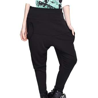 Femme-Oversized pantalon herem pantalon Baggy Hippie sarouel Hip-hop