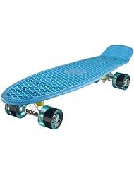 Ridge Big Brother Cruiser - Skateboard, color azul / azul claro, 69 cm