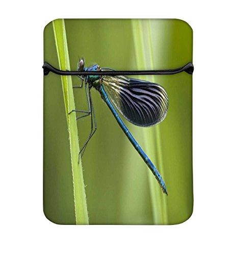 NAVY blau Libelle 13bis 34,5cm Schutzhülle Sleeve Tasche für MacBook Air 13/Pro 13Retina/Oberfläche Book/iPad Pro & 33cm Acer Dell HP Toshiba Saumsung Asus Chromebook Laptops (türkis) (13 Navy-blau Macbook Air ärmel)