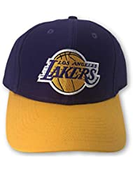 d2900ebd944c8 Reebok Los Angeles Lakers - Gorro Ajustable Estructurado