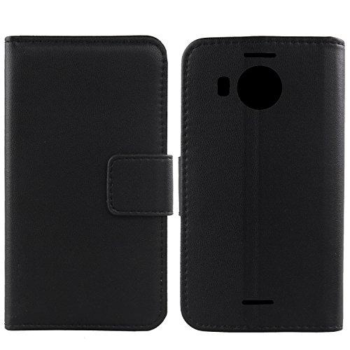 Gukas Design Echt Leder Tasche Für Microsoft Lumia 950XL 5.7