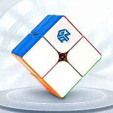 Cubelelo Gans 249 2x2 v2 M Stickerless Speed Cube Puzzle 2x2x2 Magic Cube