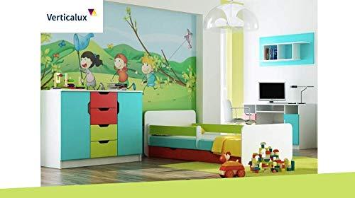 VERTICALUX Vertica Lux un Conjunto de 4Juego de Muebles Infantiles–Winnie The Pooh 5con Cama. CREA un Habitaciones de Träumen para su Hijo.