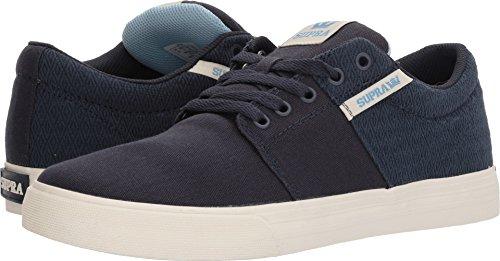 Supra Herren Stacks Ii VULC Sneaker Blau (Navy/Aquifer-White)