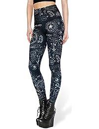 c7513bb724a Tamskyt - Leggings para Mujer con Estampado Digital de Unicornio