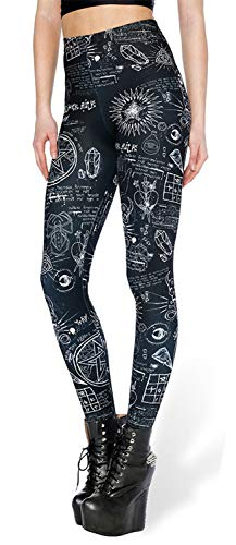 Tamskyt - Leggings Mujer Estampado Digital Unicornio