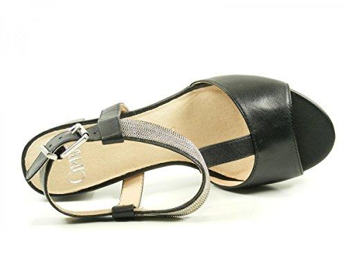 Caprice 9-28301-28 Damen Sandalen Sandaletten Schwarz