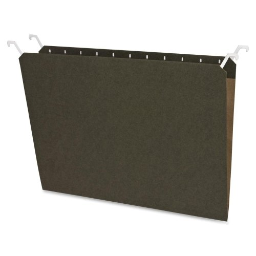 Sparco Hanging File Folders, Letter, 20-Pack, Green (SPR41050)