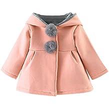 Hunpta Baby Kleinkind Mädchen Winter warmer Mantel Jacke Dicke warme Kleidung