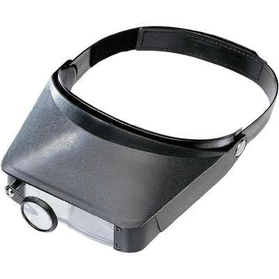 PL NoName Kopflupe Vergrößerungsfaktor: 1.8 x, 2.3 x, 3.7 x, 4.8 x Schwarz 801828 (System Pl-licht)