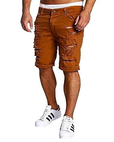 Tomsent Pantacourt Déchirer Jeans Fashion Pour Homme Bermuda Trous Jeans