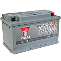 Yuasa YBX5115 High Performance Starter Battery, Silver preiswert
