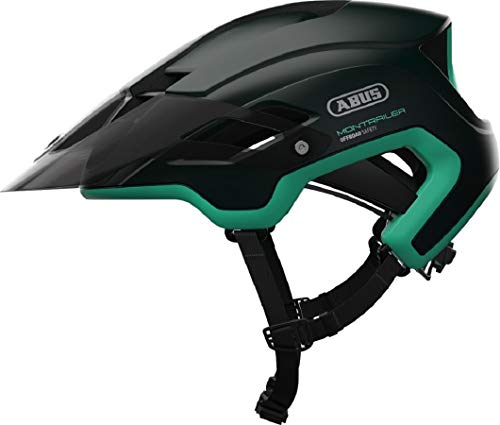 Abus MonTrailer Fahrradhelm smaragd Green M