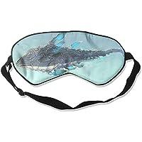 Comfortable Sleep Eyes Masks Ocean Whale Pattern Sleeping Mask For Travelling, Night Noon Nap, Mediation Or Yoga preisvergleich bei billige-tabletten.eu