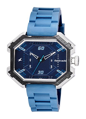 Fastrack Economy 2013 Analog Blue Dial Men's Watch - 3100SP03  available at amazon for Rs.1895