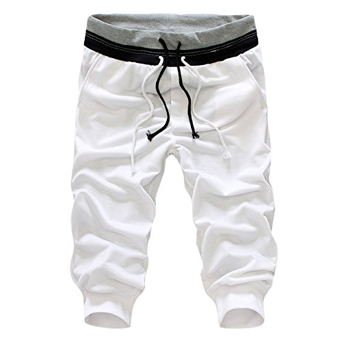 Juleya Shorts Bermuda pour Homme Pantacourt Sport Jogging Poches Casual Jogging Fitness Shorts Pantalon S-3XL