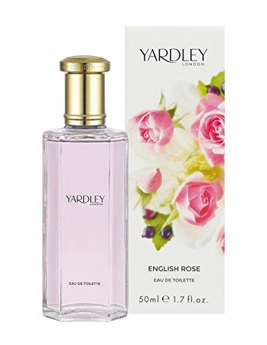 Yardley English Rose Eau de Toilette Vaporisateur pour Femme 50 ml