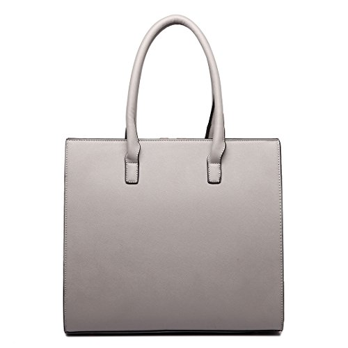 Plovers Bag Ladies Pu Leather Handbag Tote Bags Shoulder Bags Shoulder Bags Tote Bag Grey