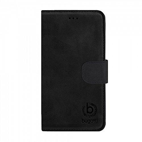 Bugatti 8743 Etui en cuir pour Apple iPhone 6 Motif Lausanne Noir schwarz - Madrid