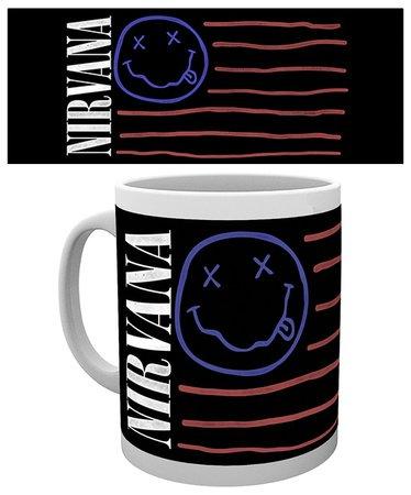 GB eye, Nirvana, Flag, Tazza