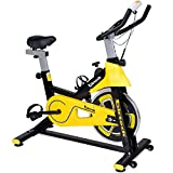 Exercise Bike,Spinning Bike Pro Indoor Cycling Bike Trainer Belt Drive Stationary Bike