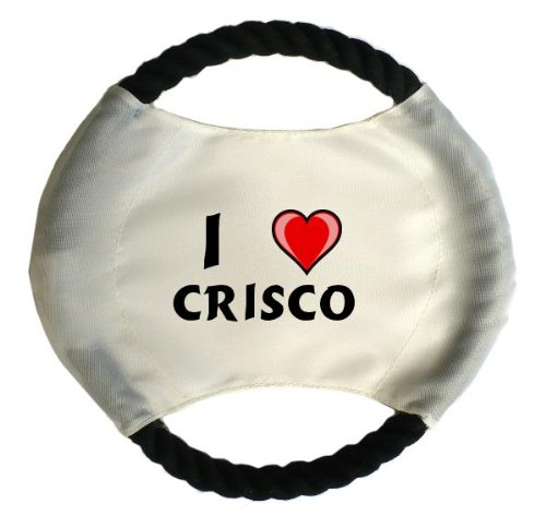 personalised-dog-frisbee-with-name-crisco-first-name-surname-nickname