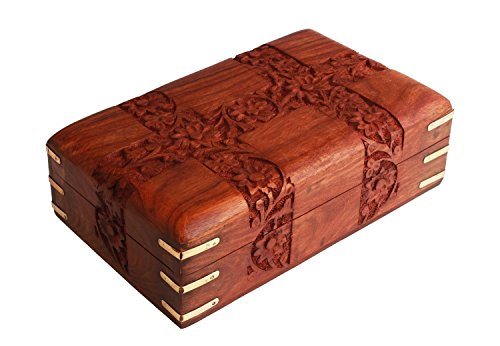 charming-hand-carved-wooden-decorative-trinket-jewellery-box-152-x-102-x-64-cm-with-floral-carvings-