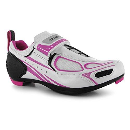 Muddyfox - Zapatillas de ciclismo de Material Sintético para mujer bl