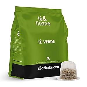 Il Caffè Italiano - 50 capsule compatibili Nespresso Tè Verde Earl Grey - Frhome