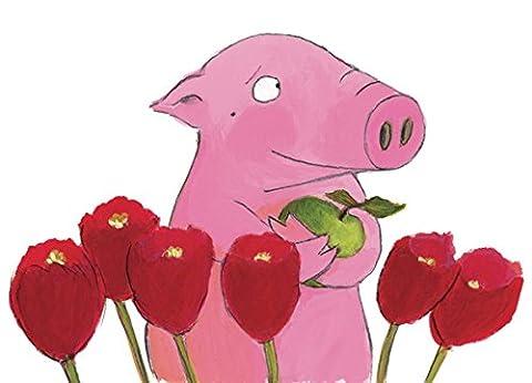 Postkarte A6 • 11828 ''Tulpen'' von Inkognito • Künstler: Jutta Bücker • Liebe & Romantik • Ostern • Blumen