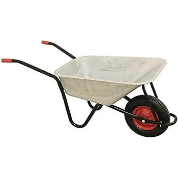 Berühmt Profi Schubkarre 200 kg 120 l Bau Garten Luftrad Transport Karre @FS_23