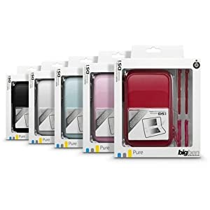 """Nintendo DS Lite/DSi – Zubehör-Pack 1 """"So Pure"""" (farbig sortiert, 1 Stück)"""