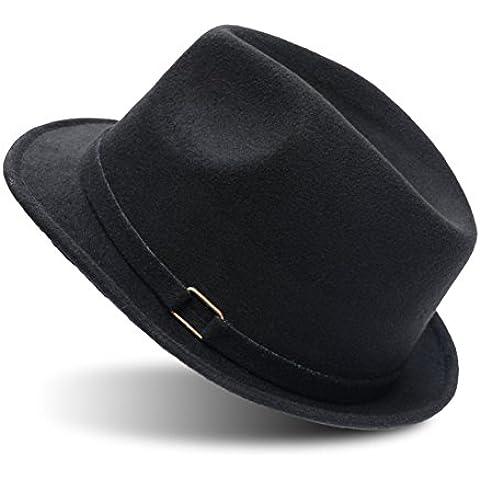 Pelosa piccolo cappello/Tappi di sovratensioni coreano/Visiera/Grande cappello a tesa larga/Jazz