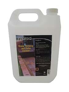 Inspired - Detergente concentrato per pavimentazione esterne e rivestimenti in pietra, 5 L