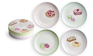 Rosanna  Services de 4 assiettes Petite Patisserie