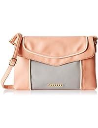 Caprese Tessa Women's Sling Bag (Pale Pink)
