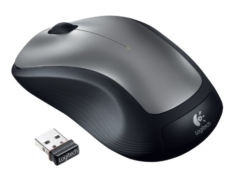 M310 Wireless Mouse, Silver, Sold as 1 - Logitech Wireless M310 Maus