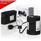 MDF® Esfigmomanómetro aneroide Calibra - Monitor de presión arterial - Negro ...