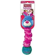 KONG Squiggles - Juguetes para mascotas, colores y modelos surtidos